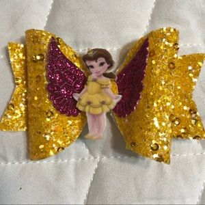 Children's Beauty and the beast bow